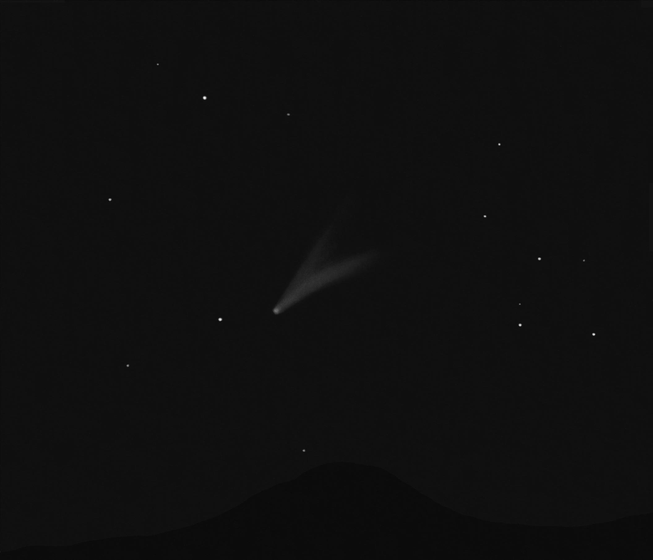 Observation des comètes
