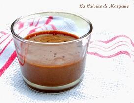Mousse chocolat et crème de marron