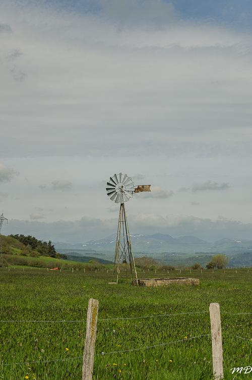 Randonnée Tourzel-Ronzières.Le Malnon.Chassagne.Clichés de Martine.18.05.2016