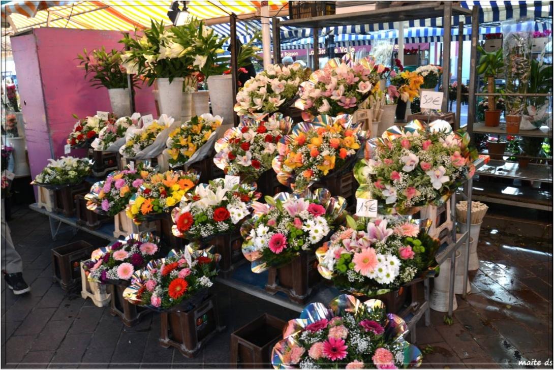 Marché aux fleurs de Nice