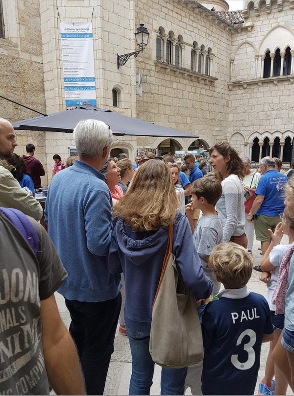 Une journée d'été ordinaire au sanctuaire, le 26 juillet 2017