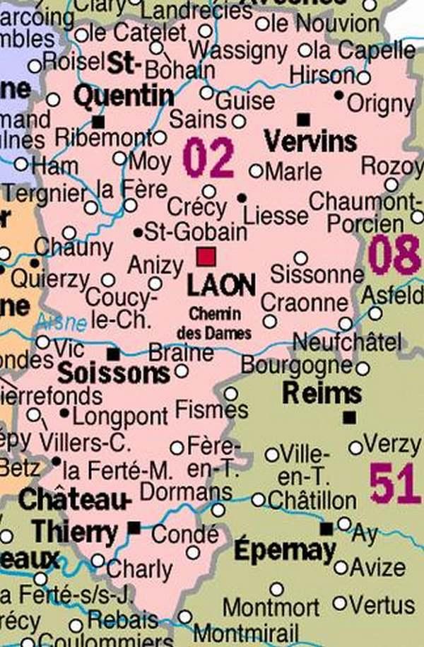 Curiosités Régionales : AISNE