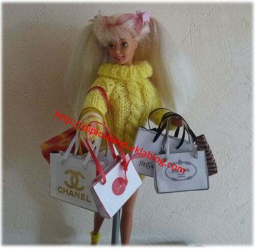 Mes Barbie Reines du shopping