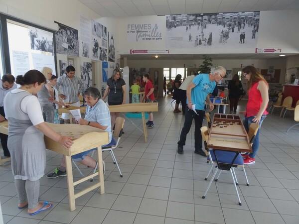 """La """"Fête du Jeu"""" a eu lieu le 13 juin 2015 au CSCL de Châtillon sur Seine"""