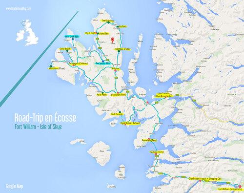 ÉCOSSE. Isle of Skye.  (Scotland)  (Voyages)