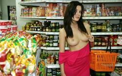 Dans les supermarchés