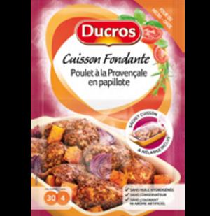 Poulet et pommes de terre au four avec Ducros