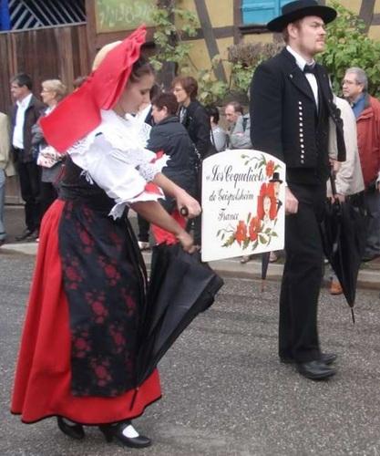 Les costumes alsaciens 98 : Geispolsheim