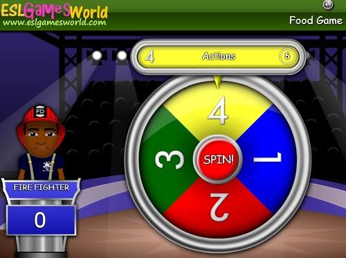 Testez vos connaissances en vocabulaire avec ces jeux : Spin the Wheel