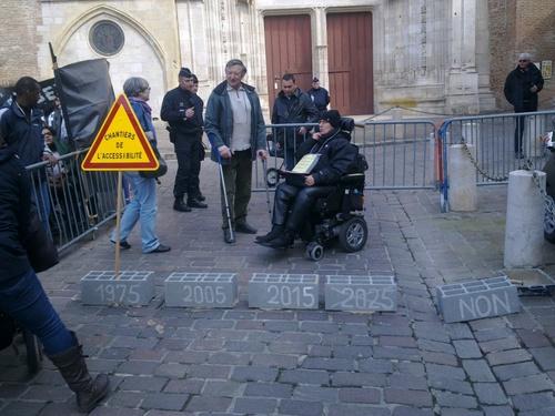 Suites manif du CER MP du 27 mars 14 sur l'accessibilité