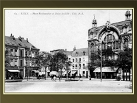 Place Vanhoenacker et Union de Lille