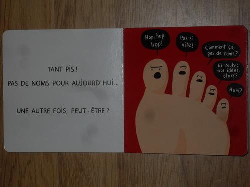 Les orteils n'ont pas de nom - Jean Leroy & Matthieu Maudet