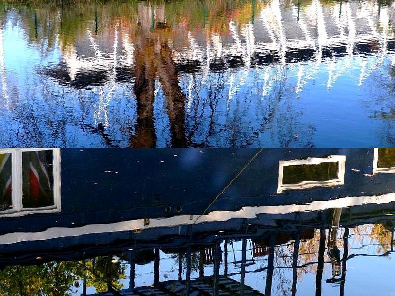 Metz / Du plan d'eau au Jardin Botanique...