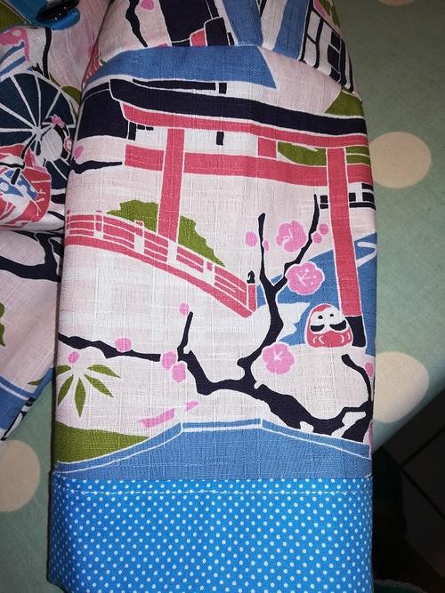 Une tunique kimono pour Clara