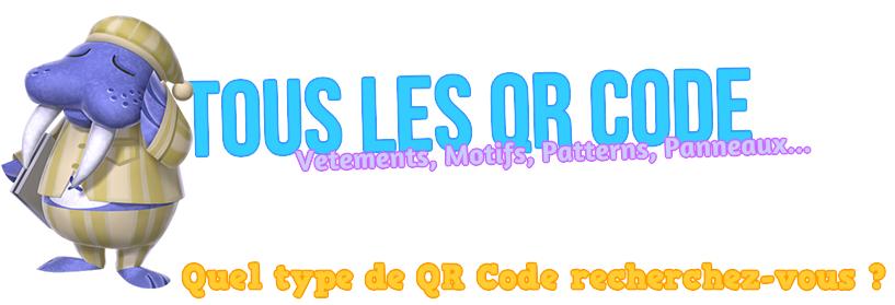 Tous les contenus QR Code à Flasher