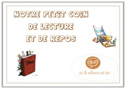 Affichage coin lecture
