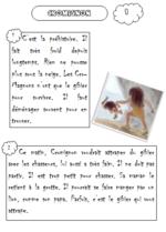 Cromignon : texte et exploitation