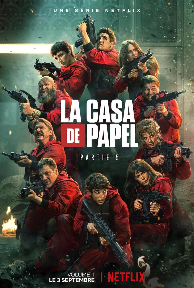 LA CASA DE PAPEL - SAISON 5