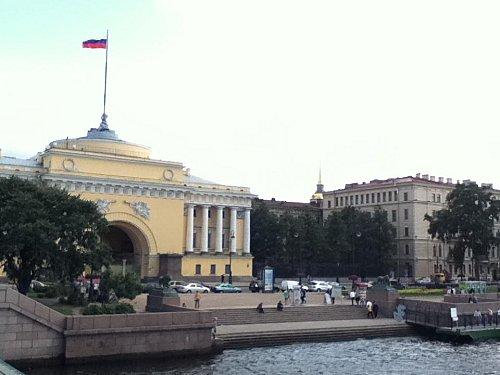 st Pétersbourg Amirauté de près