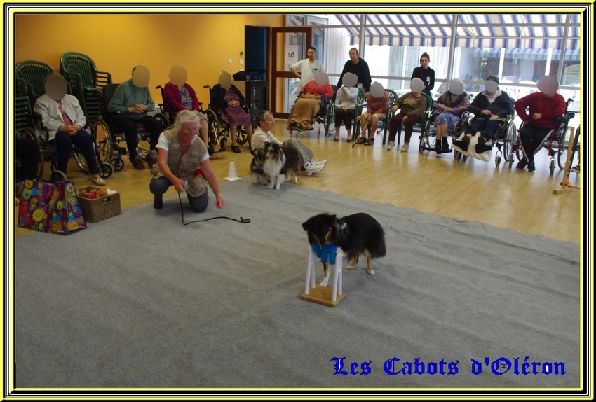Visite à la maison de retraite d'Etaules   (2eme partie)