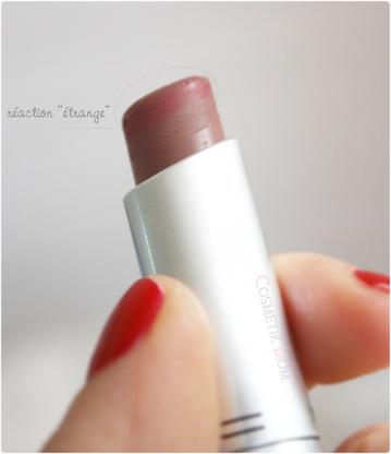 Mes lèvres presque nude avec Till Tomorow de MAC