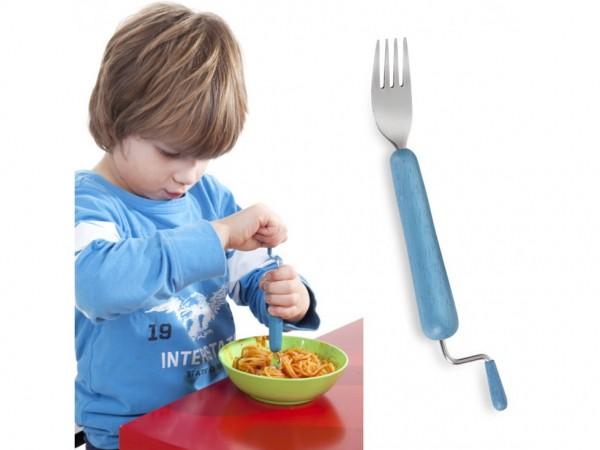 fourchette spaghettis enfants