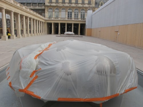 Palais Royal Bury Sphérades travaux1