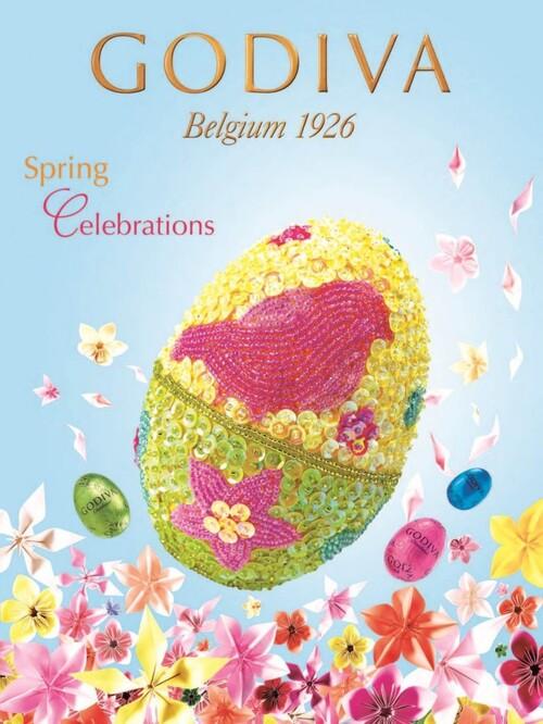 Pour Pâques, venez à la rencontre de Mr Bunny chez votre chocolatier Godiva à Montpellier !