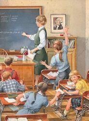 Dossier de rentrée : l'école autrefois