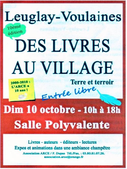 -Des livres au village