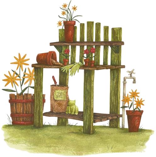 Décos de Jardin Série 4