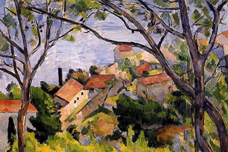 Cézanne 8 /               1870:l'Estaque