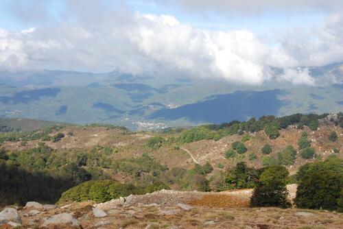 Vus sur les sommets environnants
