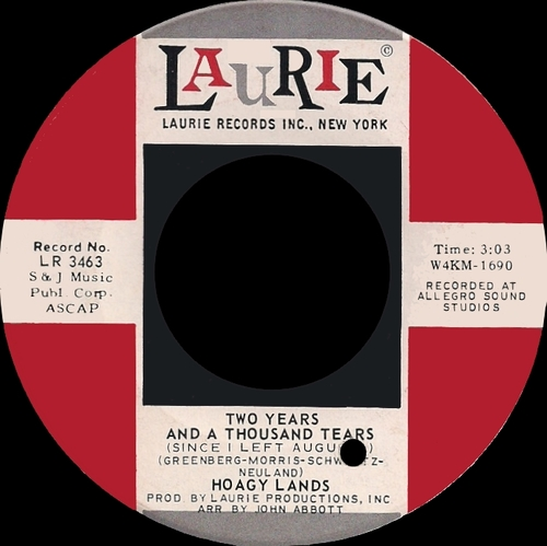 "Hoagy Lands : CD "" White Gardinia : The Singles Years 1966-1973 "" SB Records DP 131 [ FR ]"