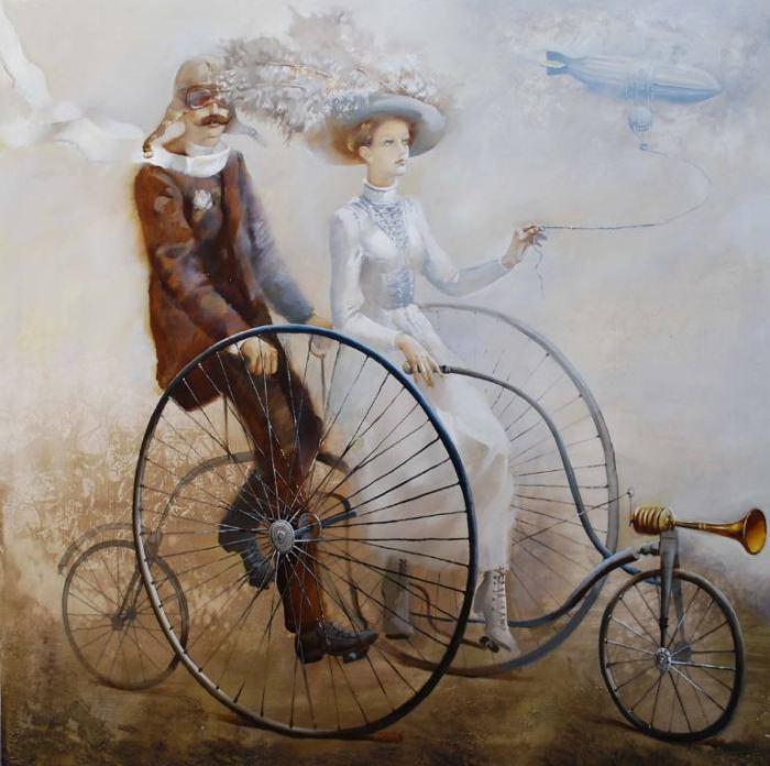 L'artiste biélorusse moderne.  Oleg Tchoubakov