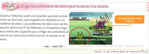 "Couverdure dans le ""Pokemon Noir & blanc Guide de strategie officiel de Pokémon'' (vol 1 - guide d'unys)"