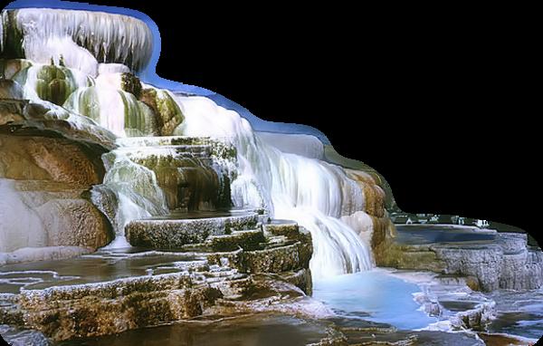 Paysage cascade 6