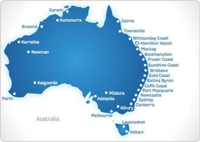 Australie  - 7