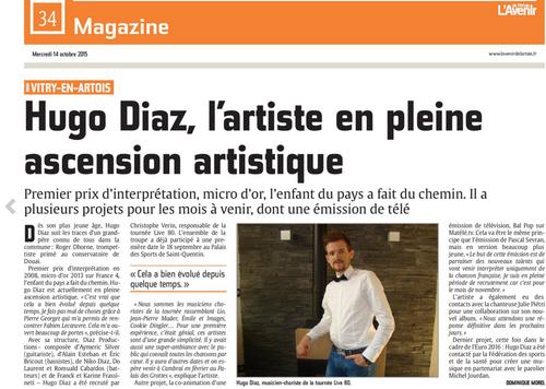News et Rdv de Hugo DIAZ