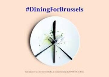 Brandissez couteaux et fourchettes et soutenez l'horeca bruxellois.