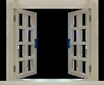PNG képek: Ajtók, ablakok