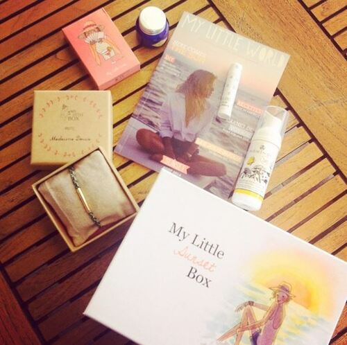 My Little Sunset Box Août 2014 Spoilers