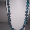 collier chocolat turquoise