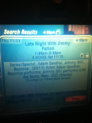 "Beyoncé sera au ""Late Night with Jimmy Fallon"" le samedi 12 Novembre 2011"