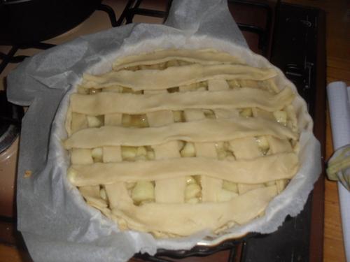 """Un Apple Pie pour ma participation à """"Un tour en cuisine"""" tour n°372"""