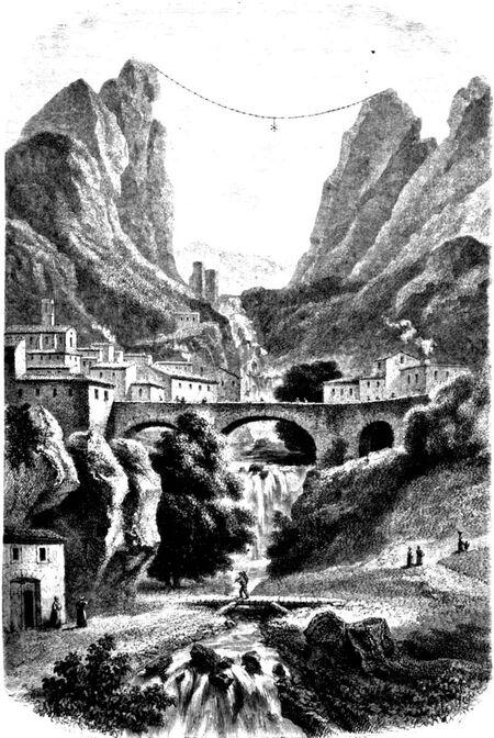 Moustiers Sainte Marie, le sentier de la chaîne