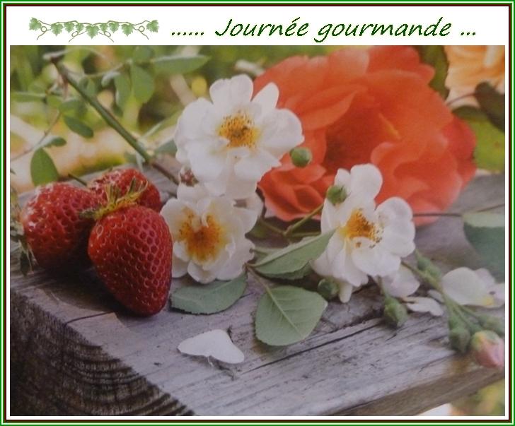"""Gâteau """"aux fraises"""" ..."""