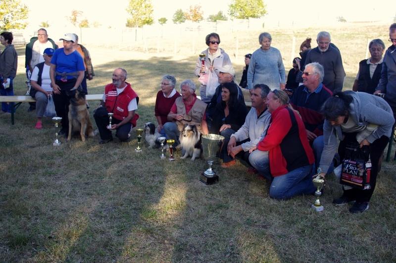 Suite du concours d'obéissance à Cabariot du 29 et 30 septembre 2012