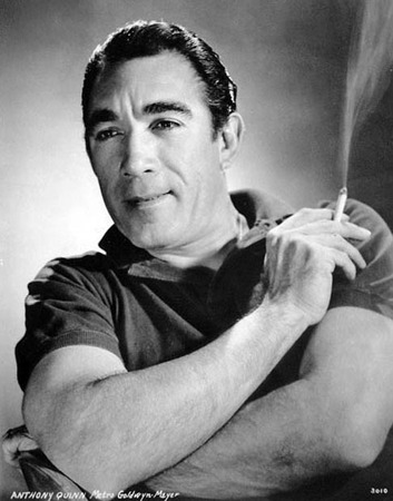 Anthony quinn cigarette