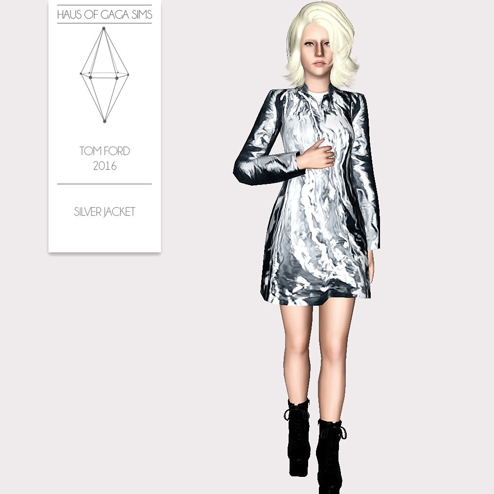 TOM FORD 2016 SILVER JACKET